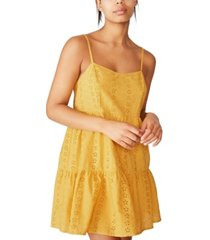 cotton on woven betty tiered mini dress
