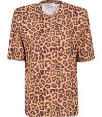 the attico leopard printed t-shirt