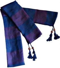 bufanda lana edimburgo azul viva felicia