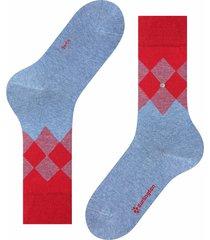 burlington socks hampstead socks   red multi   21912-6662