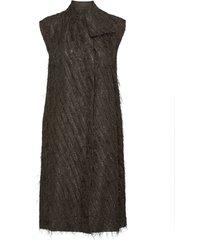day palm knälång klänning svart day birger et mikkelsen