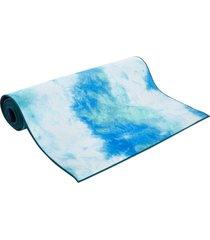 "aurorae synergy tie dye hot yoga mat 72"" 5mm tahiti tide silicone"