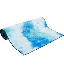 "aurorae synergy tie dye hot yoga mat 72"" 5mm tahiti tide silicone"