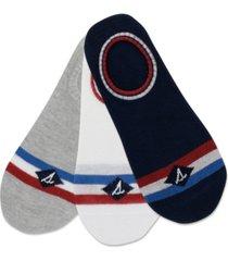 sperry men's 3-pk. ultra low-show socks