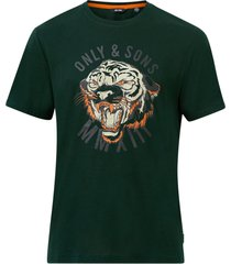 t-shirt onsmike life reg ss printed tee