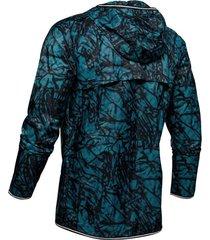 ua qualifier storm glare packable jacket - chaqueta de hombre para correr marca under armour