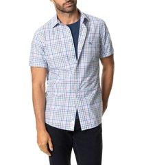 men's rodd & gunn lilybank plaid short sleeve button-up shirt