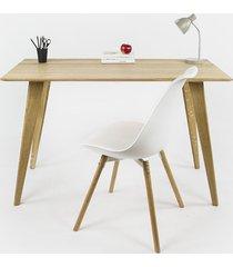dębowe biurko / małe