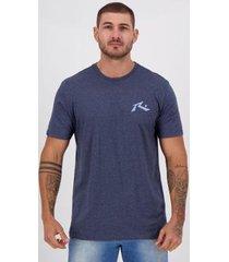 camiseta rusty silk competition marinho mescla - masculino
