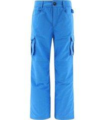 survival cargo trousers cobalt blue
