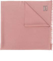 n.peal lightweight cashmere scarf - pink