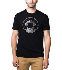 men's premium blend word art i need my space astronaut t-shirt