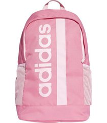 maleta rosa adidas linear core dt8619  envio gratis*