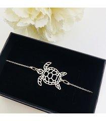 bransoletka z żółwiem,srebrny żółw