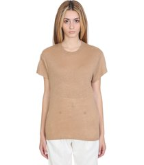 iro hinton t-shirt in beige linen