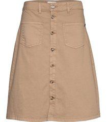 pzditte skirt knälång kjol pulz jeans