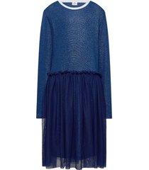 1x1 glam fun drop tullina jurk blauw mads nørgaard