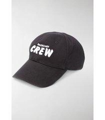 balenciaga crew embroidered baseball cap