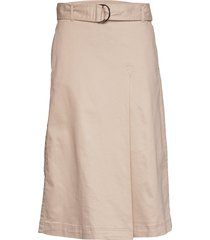 mavisiw skirt knälång kjol beige inwear