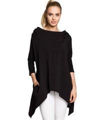 sweater style s102 mouwloze hemdjurk - ecru