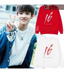 kpop produce 101 kim samuel sweater solo sixteen hoodie sweatershirt  casual