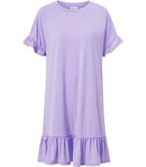 klänning viamanda s/s ruffle detail dress