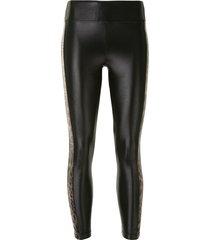 koral dynamic duo infinity leggings - black