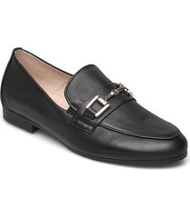 slip-ons loafers låga skor svart gabor