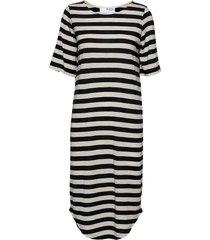 slfivy 2/4 beach dress b dresses t-shirt dresses svart selected femme