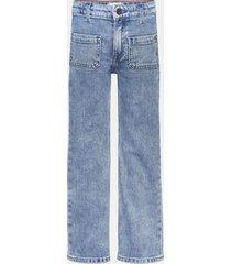 jeans holgados de corte acampanado azul tommy hilfiger