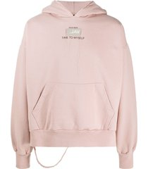 val kristopher 0008 issue popover logo hoodie - pink