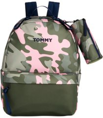 tommy hilfiger piper recycled nylon backpack