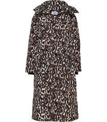 day new justine printed gevoerde lange jas multi/patroon day birger et mikkelsen
