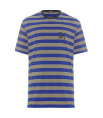 t-shirt masculina listra jay - azul