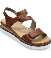 679c7-24 shoes summer shoes flat sandals brun rieker