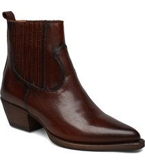 boots 3610 shoes boots ankle boots ankle boot - heel brun billi bi