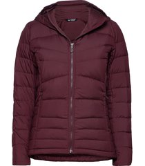 transition down hoodie w outerwear sport jackets paars salomon