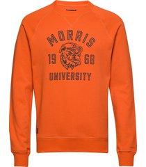 carleton sweatshirt sweat-shirt tröja orange morris