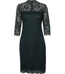 dresses knitted jurk knielengte groen esprit collection