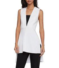 sleeveless high-low tunic