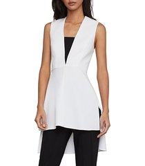 sleeveless high-low tunic