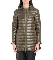 herno falred doown coat with hood