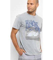 camiseta mood black sea masculina