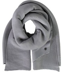 shimmery shine women's plisse scarf