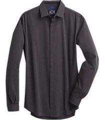 joe joseph abboud repreve® wine slim fit sport shirt