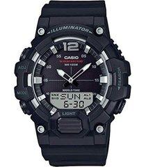 reloj casio hdc700_1av negro resina hombre