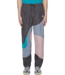 'juka' colourblock track pants