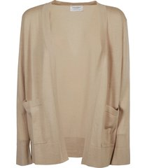 snobby sheep classic mid-length open cardigan