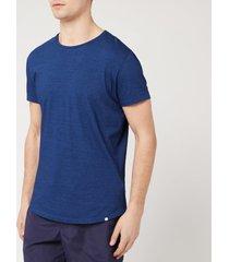 orlebar brown men's crewneck t-shirt - denim pigment - xl - blue