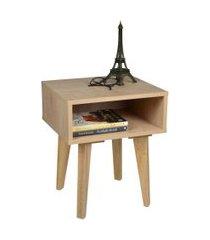 mesa de cabeceira azaléia madeira
